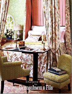 Charlotte Moss ▇  #Home #Design #Decor  via IrvineHomeBlog - Christina Khandan - Irvine, California ༺ ℭƘ ༻