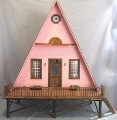 ok. it's a doll house, yet would translate well into tiny life size beach home