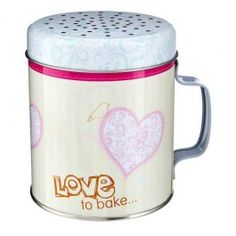 An easy to user flour sifter that is an attractive addition to the kitchen! Packed flour can become compacted and sifting it will lighten it and improve your results. It's essential when adding cocoa to a recipe- sidt it together with the flour. Includes a free recipe from Jane for delicious raspberry and white chocolate squares.