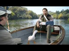 aflac new boat commercial