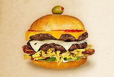 The Cheese & Burger Society features Wisconsin Cheese in delicious topping ideas for your homemade cheeseburger recipes. THE HANDYMAN Hamburger Recipes, Beef Recipes, Cooking Recipes, Burger Toppings, Cheese Burger, Homemade Cheeseburgers, Cheeseburger Recipe, Wisconsin Cheese, Good Burger