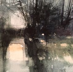 Making The Most Of Your Landscaping At Your Home - House Garden Landscape Landscape Drawings, Abstract Landscape Painting, Watercolor Landscape, Abstract Watercolor, Landscape Art, Landscape Paintings, Abstract Art, Watercolor Artists, Watercolor Paintings