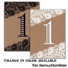 115 Custom Kraft paper brown paper Table by DigitalPrintShop, $8.99