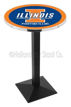 Finish Your Bar Or Game Room Right, With A Top Notch Pub Table Featuring  Your Favorite Team!