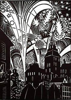 "Happy New Year! in Masereel's ""The City"""