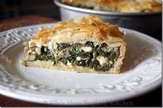spinach & feta pie ... since we're an hour from the nearest Olga's, I want to make it myself!