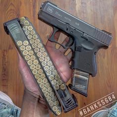Love this 30round mags #crazyguns - Credits to; @gunmagwarehouse