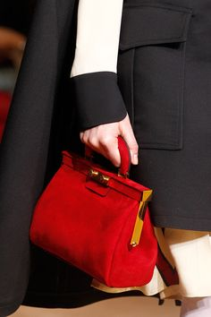 great suede purse