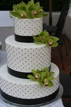 Kind of cute :) not sure if it is a wedding cake, though it would be a good design for a birthday !!!