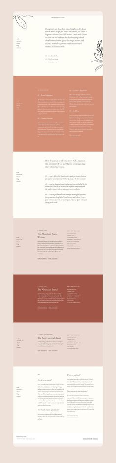 Web design by Wayfarer Design Studio // website design, hand lettering, illustration Website Design Inspiration, Layout Inspiration, Graphic Design Inspiration, Web Design Trends, Web Design Tips, Blog Design, Design Ideas, Layout Design, Page Design