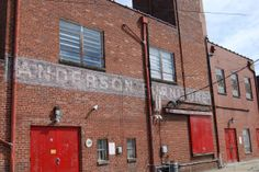 The Backside Of Anderson Furniture Co., Once Located At 235 E. In Kingsport,  TN. It Was Established In