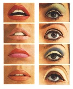 Vintage Makeup make up inspiration. Makeup Vintage, Retro Makeup, Sixties Makeup, Twiggy Makeup, Sleek Makeup, 1970s Makeup Eyes, Vintage Makeup Tutorials, Vintage Cat, Natural Makeup