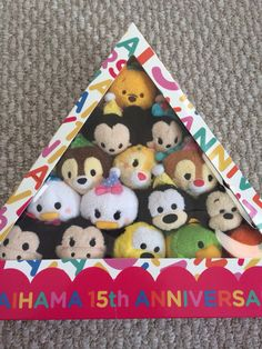 15th Anniversay Ikspiari Tsum Tsums!!! My favs so far!