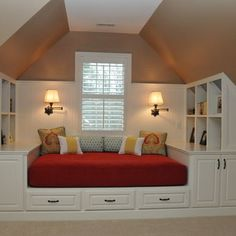 Beyond words Narrow attic bedroom ideas,Attic remodel near me and Attic renovation new orleans. House Design, House, Small Spaces, Home Projects, Interior, Home, New Homes, Attic Spaces, House Interior