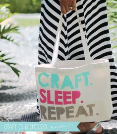12 Months of Martha: Freezer Paper Craft Tote - damask love. Iron the paper down! Freezer Paper Crafts, Freezer Paper Stenciling, Silhouette Projects, Silhouette Cameo, Glen Eden, Word Stencils, Arts And Crafts For Adults, Crochet Bra, Craft Club