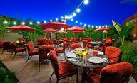 Winter and earl spring are the best times to visit Palm Springs, when mild temperatures make outdoor dining, such as at Los Arboles, popular. (From: Photos: Top 10 Best Budget Destinations Palm Springs Restaurants, Palm Springs Hotels, Unique Restaurants, Patio Dining, Outdoor Dining, Outdoor Decor, Outdoor Stuff, Best Mexican Recipes, Easy Recipes