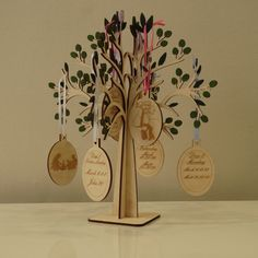 Easter Passion Week Countdown Lent Tree by LazerHouse33 on Etsy https://www.etsy.com/au/listing/264769046/easter-passion-week-countdown-lent-tree
