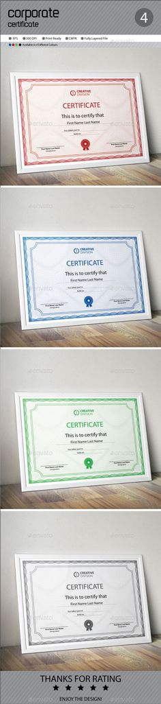 Vector templates of certificates design set 01 gui pinterest certificate yadclub Image collections