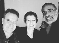 Con Carlos Morera y Gustavo Battaglia. Ensayo para concierto del sábado 9 de abril, 21:30hs en Wine Culture Center