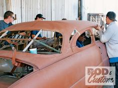 Check out Bill Hines and his 1951 Mercury as it the roof gets a custom chop the old school way inside Rod & Custom Magazine. Rat Rod Cars, Hot Rod Trucks, Rat Rods, Auto Body Work, Old Hot Rods, Sheet Metal Fabrication, Metal Shaping, Mercury Cars, Car Chevrolet