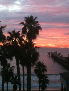 San Clemente Pier Sunset, November 2012