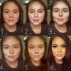 Had to repin this. Its kinda amazing what makeup can do