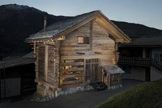 Raccard à Sarreyer de Alp'Architecture (Sacha Martin, Laurent Berset & Romain Pellissier) #raccard #rénovation #architecture #sarreyer #alparchitecture
