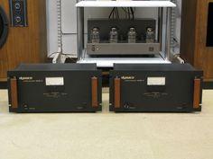 Bloc mono Dynaco Mk6 120 watts (1976). Le dernier des Dynaco à tubes. Très apprécié au Japon et rare en Europe.