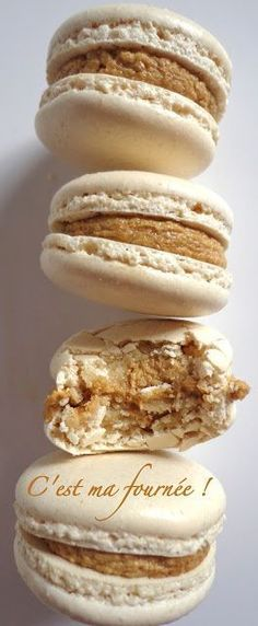 C'est ma fournée !: Macarons café (Christophe Felder) Macarons, Macaron Café, Ganache Macaron, Chefs, Desserts With Biscuits, Paris Food, French Macaroons, Bakery Recipes, No Cook Meals