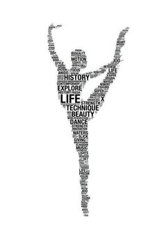 Beautiful dance graphic