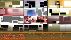 New 2020 Classic Wedding Photo Album 12x36 DM Pages-Vol-13