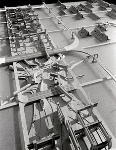 Plan For Tokyo (Kenzo Tange, Concept Architecture, Architecture Design, Marine City, Kenzo Tange, Interesting Buildings, Future City, Brutalist, Site Design, Cities