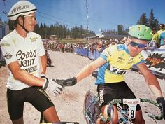 John Tomac with Ned Overend