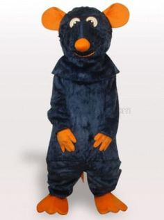 Black Mouse Plush Adult Mascot Costume - all the mascot costumes are global free shipping at http://www.cosplayzentai.com
