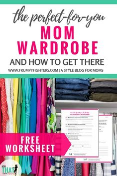 Do you feel frumpy and uninspired by the clothes in your closet? Is mom life too busy to even thinking about what needs to change? Do you feel overwhelmed by the task of rehauling your wardrobe after the changes your body experienced postpartum? Check out these 7 crucial steps to shaping a mom wardr