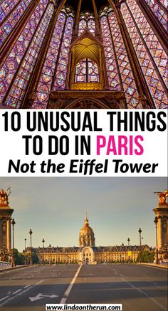 10 unusual things to do in Paris that are not the Eiffel Tower| Not your usual Paris locations| Paris packing list| Paris| France| Europe #paris #france #europe #travel