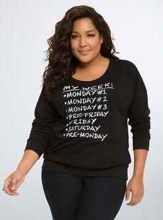Monday Sweatshirt,