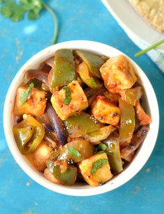 Paneer capsicum- made chili paneer style with a secret ingredient. Ready in just 20 minutes