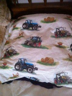 housse d oreiller tracteur pour mon petit garçon