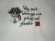 Sue Hillis' - Pillage and Plunder