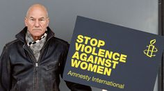 Patrick Stewart offers a dressed-down dressing down about violence against women - Activismo / Activism