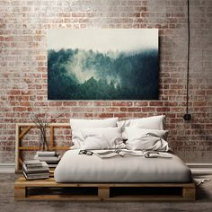 *** VACATION NOTICE: If ordered after Dec 18, this item will ship the first week of January ***     This canvas art piece features a