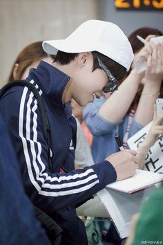 Song Jae Rim with his casual look at Osaka