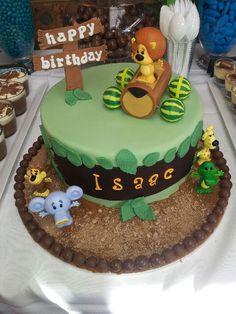Raa Raa the Noisy Lion 1st Birthday Cake