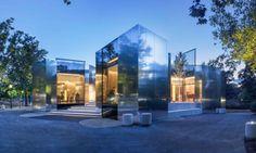 """""""Steirereck"""" Un reflejo del futuro en la arquitectura"""