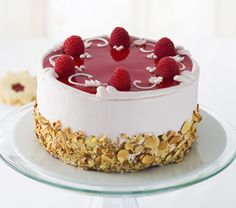 July 19 - Raspberry Cake Day Almond Raspberry Cake — Recipes Hubs
