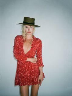 Diane Dress in Red Star   Réalisation