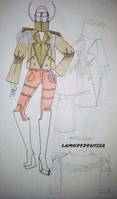 Croquis de mode et illustration