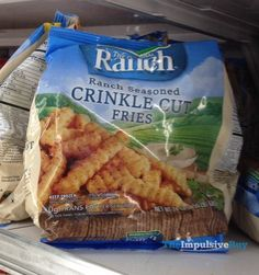 SPOTTED ON SHELVES: Hidden Valley Ranch Seasoned Crinkle Cut Fries