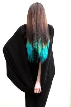 Kenny Leung-dip dye brown hair
